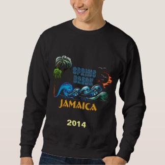 Wellen-Sonnenuntergang-Frühjahrsferien JAMAIKA der Sweatshirt