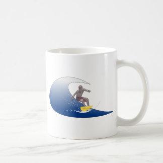 Wellen-Surfen Kaffeetasse