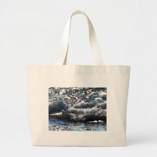 Wellen-Taschen-Tasche Jumbo Stoffbeutel