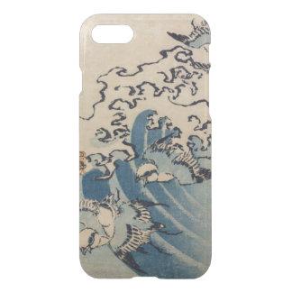 Wellen und Vögel, c.1825 iPhone 8/7 Hülle
