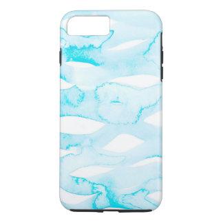 Wellen und wir Aquarell-Technologie-Fall iPhone 8 Plus/7 Plus Hülle