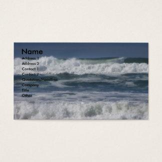 Wellen Visitenkarten