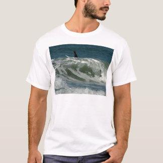 Wellen weg vom Ozean-Strand in San Diego T-Shirt