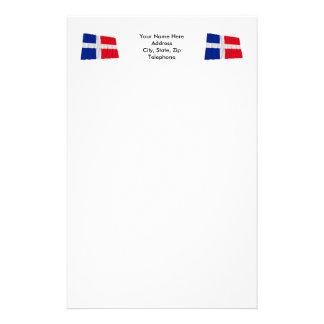 Wellenartig bewegende Flagge Saar (1947-1956) Druckpapier