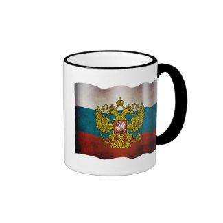 Wellenartig bewegende Flagge von Russland