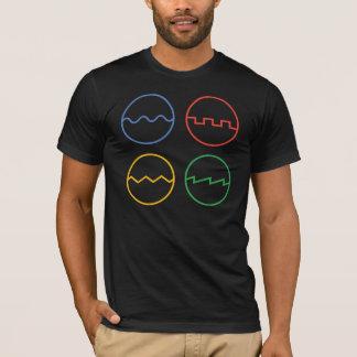 Wellenformen T-Shirt