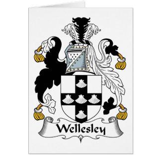 Wellesley Familienwappen Karte