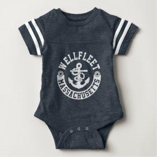 Wellfleet Massachusetts Baby Strampler