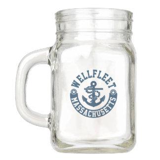 Wellfleet Massachusetts Einmachglas