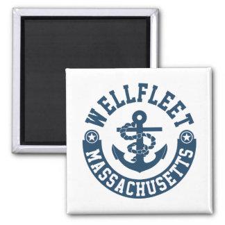 Wellfleet Massachusetts Quadratischer Magnet