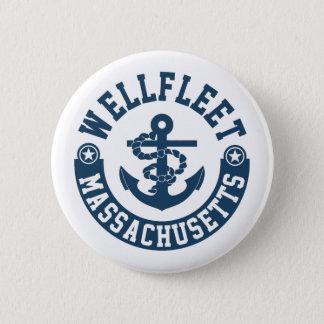 Wellfleet Massachusetts Runder Button 5,7 Cm