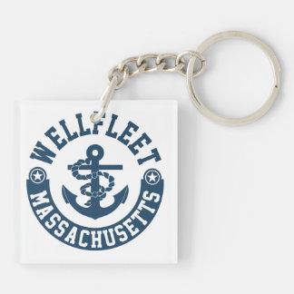 Wellfleet Massachusetts Schlüsselanhänger