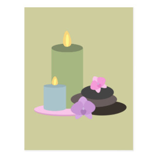 Wellness-Center-Geburtstags-Party-Postkarte laden Postkarte