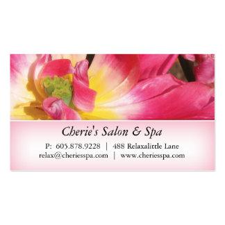 Wellness-Center - Geschäfts-Karte der Salon-rosa Visitenkarten