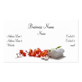 Wellness-Center-Geschäfts-Karte Visitenkarten