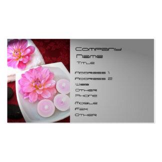WELLNESS-CENTER, Massage Visitenkarte