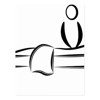 Wellness-Center-Tagesmassage Postkarten