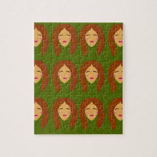 Wellneßfrauen/auf Olive BG Puzzle