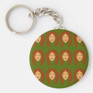 Wellneßfrauen/auf Olive BG Schlüsselanhänger