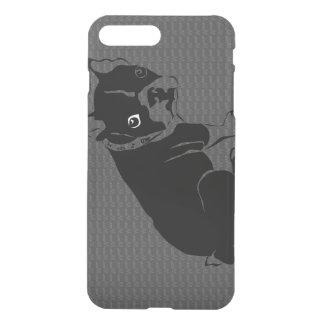 Welpe Bostons Terrier Schuss iPhone 7 Plus Hülle