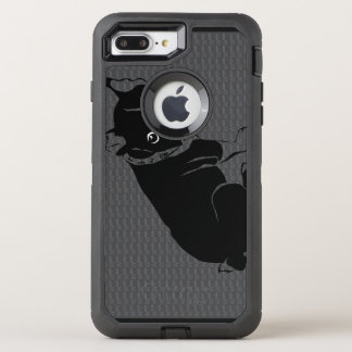Welpe Bostons Terrier Schuss OtterBox Defender iPhone 7 Plus Hülle