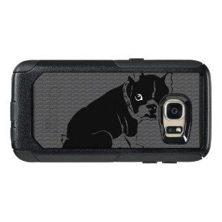 Welpe Bostons Terrier Schuss OtterBox Samsung Galaxy S7 Hülle