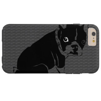 Welpe Bostons Terrier Schuss Tough iPhone 6 Plus Hülle