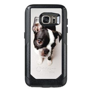 Welpe Edison Boston Terrier OtterBox Samsung Galaxy S7 Hülle