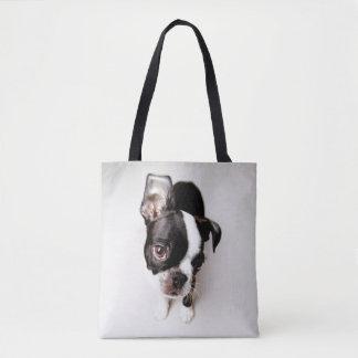 Welpe Edison Boston Terrier Tasche