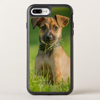 Welpe im Gras OtterBox Symmetry iPhone 8 Plus/7 Plus Hülle