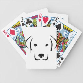 Welpe Labrador Bicycle Spielkarten