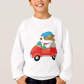 Welpen-Auto Sweatshirt