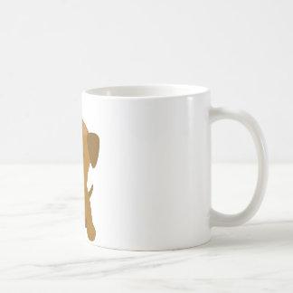 Welpen-große Tatzen Kaffeetasse