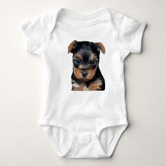 Welpen-Kunst Yorkshires Terrier Baby Strampler