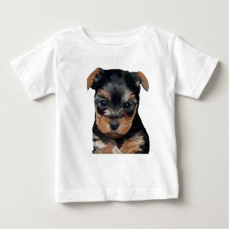 Welpen-Kunst Yorkshires Terrier Baby T-shirt