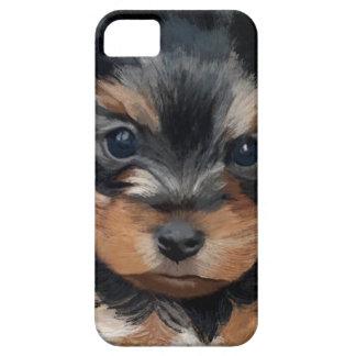 Welpen-Kunst Yorkshires Terrier Hülle Fürs iPhone 5