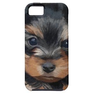 Welpen-Kunst Yorkshires Terrier iPhone 5 Schutzhülle