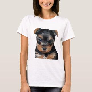 Welpen-Kunst Yorkshires Terrier T-Shirt