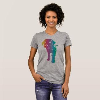Welpen-Liebe in der Farbe! T-Shirt