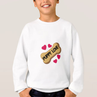 Welpen-Liebe Sweatshirt