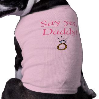 Welpen-Liebe-T - Shirt Hundbekleidung