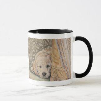 Welpen-Nickerchen Tasse