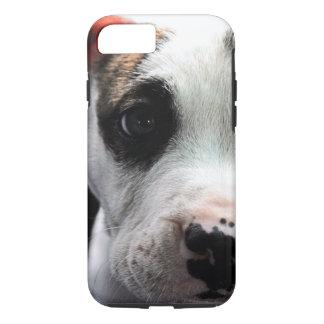 Welpen-Pitbull-förmiger Knochen iPhone 8/7 Hülle
