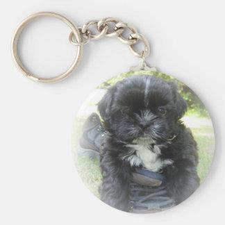 Welpen-Schlüsselkette Shih Tzu Schlüsselanhänger