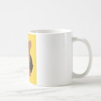 Welpen-Schwarzes und TAN Yorkshires Terrier Yorkie Kaffeetasse