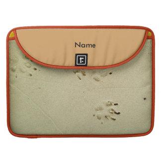 Welpendrucke im Sand Sleeve Für MacBook Pro