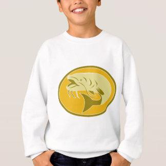 Welsfische Retro Sweatshirt