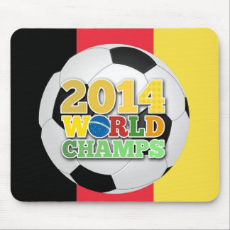 Welt 2014 kaut Ball - Belgien Mousepad