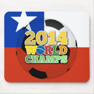Welt 2014 kaut Ball - Chilen Mousepad