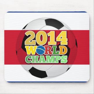 Welt 2014 kaut Ball - Costa Rica Mousepad